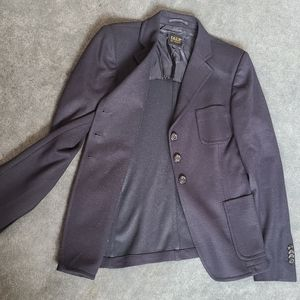 PAUW Amsterdam luxury black wool blazer
